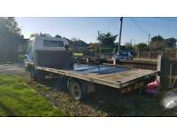 Mitsubishi canter diesel flat bed truck Export