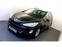 2009 | Peugeot 308 SW 1.6 HDI | Manual | IMMACULATE | REAR SEANSORS | MP3 PLAYER | TINTED | ALLOYS