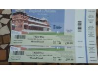 2 x Lords Tickets (ENG vs PAK) - Saturday 26 May - £80 each ticket - face value. Mound Stand