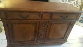 Chest of draws. Solid wood, beautiful detail great purchase