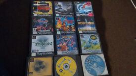playstation one 11x games bundle