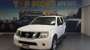 2008 Nissan Pathfinder 4X4, ALLOY WHEELS, 7 PASSENGER!