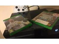 Xbox One 500gb Fifa 18 and GTA 5