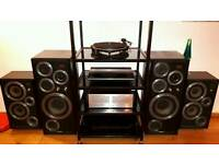 Audio Hifi Stereo Amplifier Stand Rack