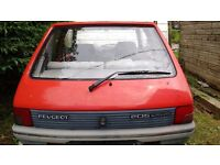 Peugeot 205 breaking complete car 1.6 Automatic K plate
