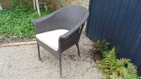 Two Bramblecrest outdoor dining chairs