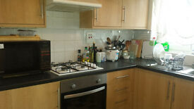 Beautiful Lovely flat Big living and dining area with big double room and new memory foam mattress