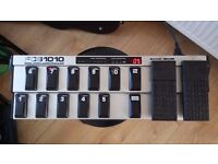 Behringer FCB1010 MIDI Foot Controller, With upgraded UNO chip. Multi Effects Controller