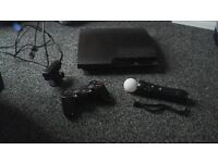 ps3 with camera and mike/wand