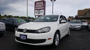 2013 Volkswagen Golf 2.5L Comfortline CLEAN CAR-PROOF !!! SUN...