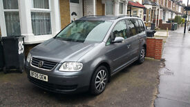 VW Touran 2.0 TDI 2005, 7 seater , NEW: MOT, Timing, serviced+ Lot of history