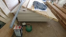 34 sheets plasterboard 8ft x 4ft 12.5mm Square Edge