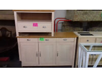 TV UNIT.. Limed Oak Effect... Also matching sideboard available... Local Delivery...