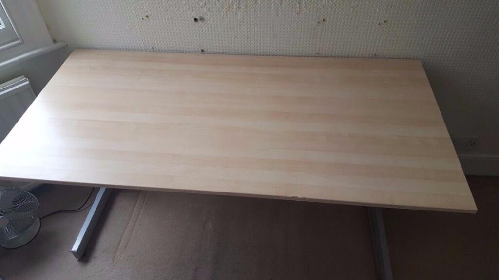 Ikea jerker birch office table cm cm £ in new malden