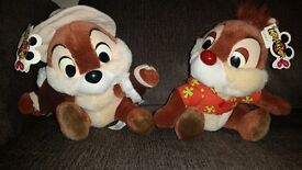 Chip and dale disney toys