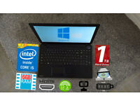 TOSHIBA INTEL CORE i5 6GB 1TB WIN10 LAPTOP
