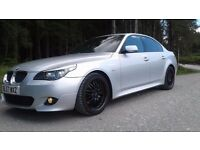 BMW 520d 5 series m sport 177bhp diesel, manual, 2 sets of alloys/tyres and towbar