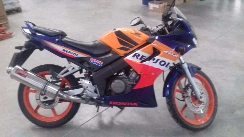 2007 honda cbr 125 rs 6 repsol edition in west molesey. Black Bedroom Furniture Sets. Home Design Ideas