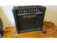 Bass Guitar Amp 15 Watt Behringer Ultrabass BT108
