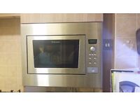 Electrolux Integrated Microwave Oven