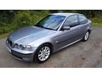 L@@K BARGAIN 2004 *04* E46 BMW 318i Compact **LONG MOT**SERVICE HISTORY**COILOVERS**
