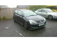 Civic sport Sale or swap for 5 door family car,