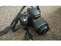 Nikon D3200 DSRL camera