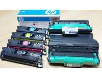 Genuine HP Laserjet 2550/2820/28440 Colour Laser Toner and Imaging Drums