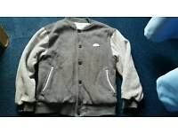 Boys nike tracksuit top (10-12 yr bottoms 8-10 years )