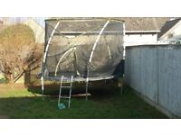 Kids 10ft Trampoline with safety net