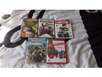 5 x kids dvds all originals