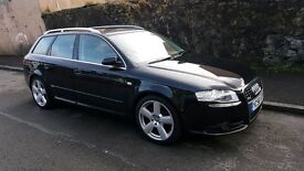 Audi A4 S Line Estate-Black