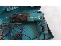 Makita 240v hammer drill