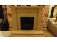 Fire Surround- Marble- very good condition