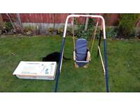 Folding toddler swing 3-36 months (Hedstrom)