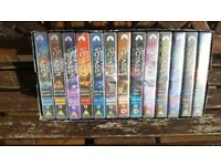 Star Trek Voyager VHS Tapes, Series 1-7, Boxed sets in presentation box.