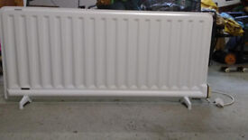 Dimplex portable panel electric radiator