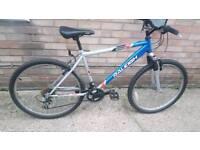 """Raleigh attitude mountain bike 26"""" wheels. Suntour suspension"""
