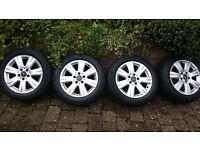 Mercedes genuine alloy wheels & winter tyres
