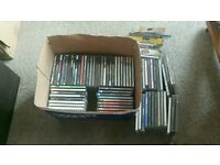 Job lot of CDs.