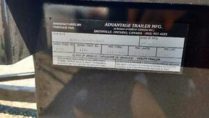 2016 Advantage 4x7 Steel Utility Trailer (BT483) London Ontario image 2