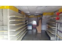 Shop Shelving for Sale at DEAL £990 - Shelves enough to cover a double shop call today 07811510490