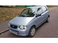 03 SUZUKI ALTO 1.1petrol low mileage!! Cheap insurance + cheap fuel