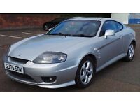 2005 05 HYUNDAI COUPE 1.6 MOT 03/17 SILVER (CHEAPER PART EX WELCOME)