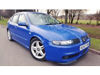 Seat Leon 1.8 20v Turbo Cupra 5dr SUPERB EXAMPLE& FULLY SERVICED