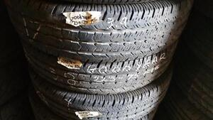 Four tires size 225 75 16 for sale