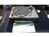 GARRARD GT SERIES RECORD DECK