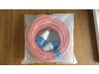 25m Mains Hook-up Cable