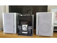 Sharp XL-UH220 Micro Component System - USB, 5 CD Changer, Tuner, MP3