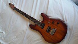 Sterling by Musician JP100D KOA - Electric Guitar